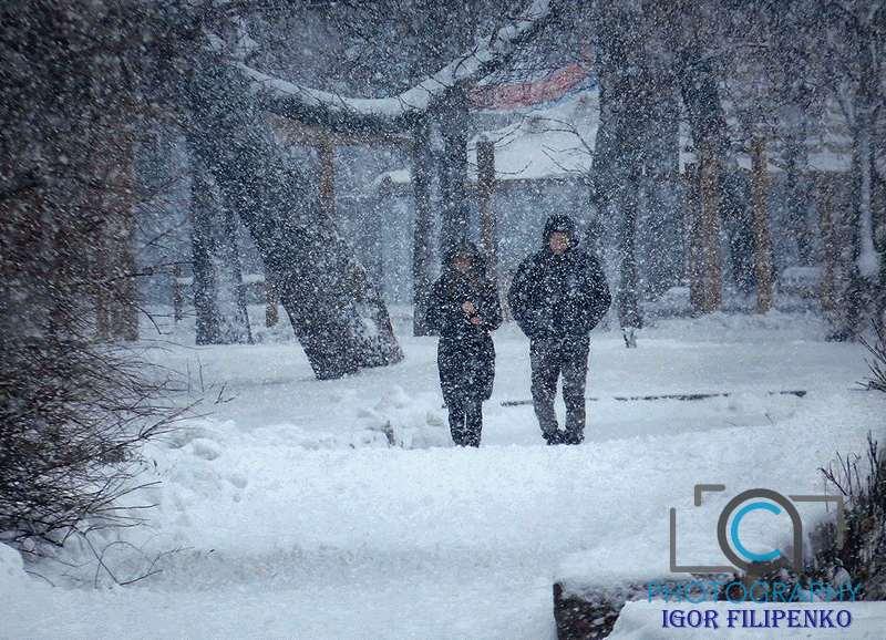 Зима 2021: Моє місто